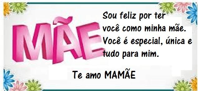 Mensagens Para O Dia Das Mães: MENSAGENS PARA O DIA DAS MÃES ONLINE