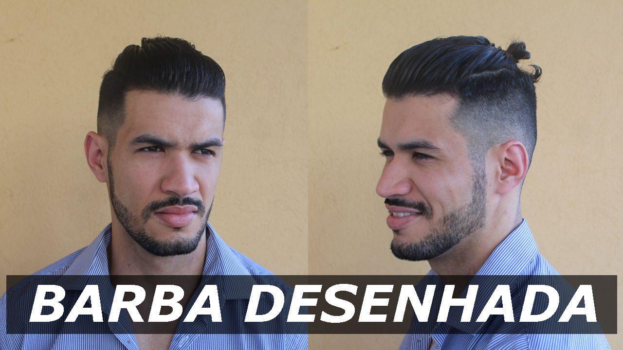 BARBA DESENHADA - COMO FAZER NOVOS MODELOS