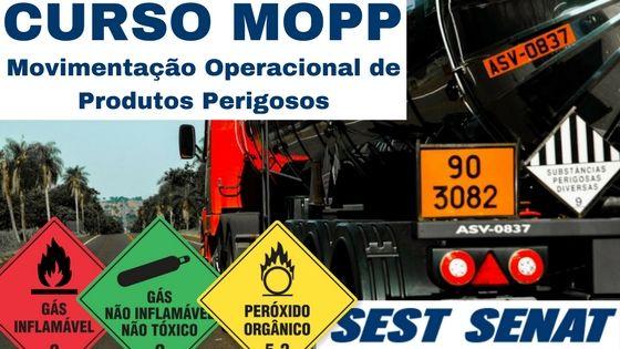 CURSO MOPP FACILIDADES NA COLOCAÇÃO NO MERCADO DE TRABALHO