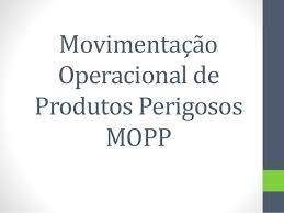 CURSO MOPP TEMPO DE CURSO ENTRE OUTRAS INFORMAÇÕES
