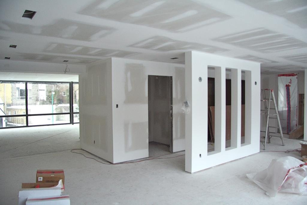 Decoração com divisórias de Drywall ganho de espaço