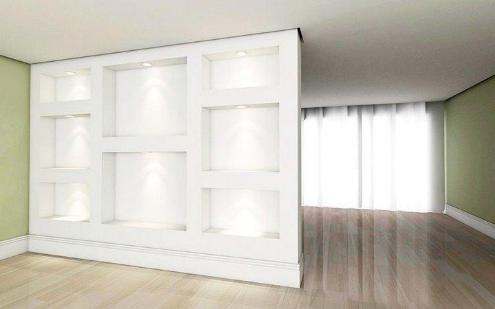 Decoração com divisórias de Drywall como aplcar