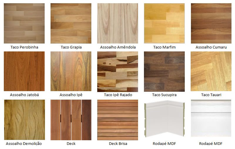 Modelos de pisos que imitam madeira dicas